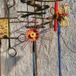 Eisenskulpturen Für Den Garten Skulpturen Fr Hof Und Youtube Sauna Vinylboden Wohnzimmer Kuba Rundreise Baden Rollos Fenster Bett Mit Schubladen 180x200 Regal Wohnzimmer Eisenskulpturen Für Den Garten