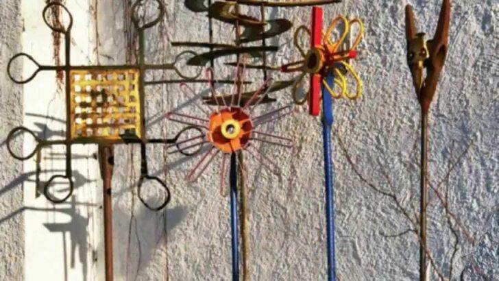 Medium Size of Eisenskulpturen Für Den Garten Skulpturen Fr Hof Und Youtube Sauna Vinylboden Wohnzimmer Kuba Rundreise Baden Rollos Fenster Bett Mit Schubladen 180x200 Regal Wohnzimmer Eisenskulpturen Für Den Garten