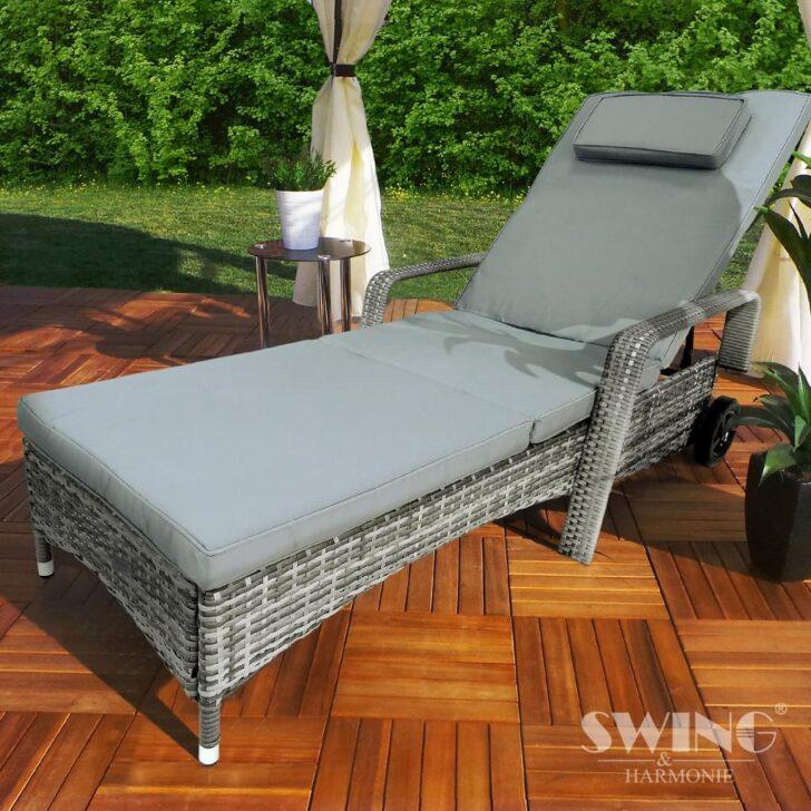 Medium Size of Sonnenliege Rattan Klappbar Polyrattan Garten Liege Mit Real Sofa Ausklappbares Bett Ausklappbar Rattanmöbel Wohnzimmer Sonnenliege Rattan Klappbar