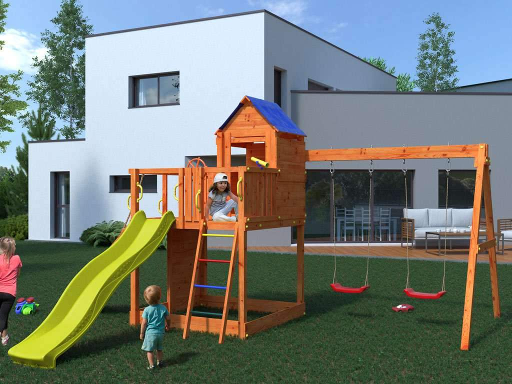 Full Size of Spielturm Abverkauf Kinderspielturm Garten Bad Inselküche Wohnzimmer Spielturm Abverkauf