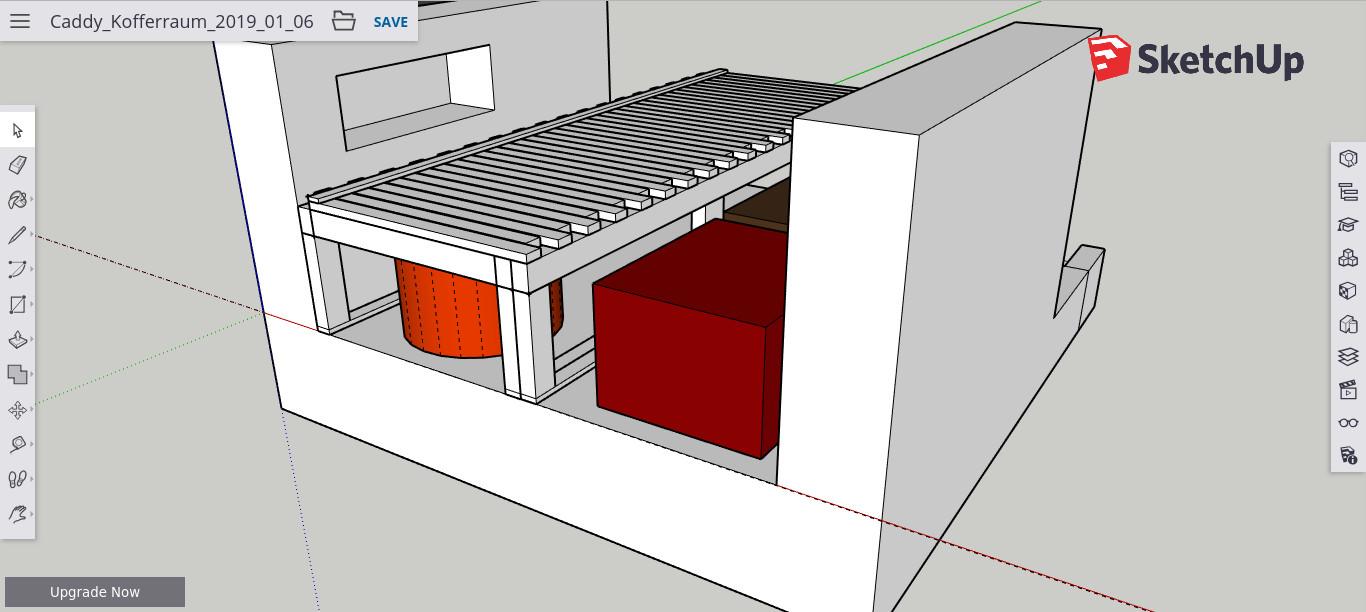Full Size of Ausziehbett Camper Diy Caddy Bett Zum Ausziehen Eine Baubeschreibung Mit Wohnzimmer Ausziehbett Camper