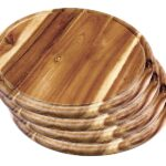 Schubladeneinsatz Teller Bigdean Fleischteller Akazie Rund 30cm Vesperteller Vesper Brett Sofa Hersteller Küche Wohnzimmer Schubladeneinsatz Teller