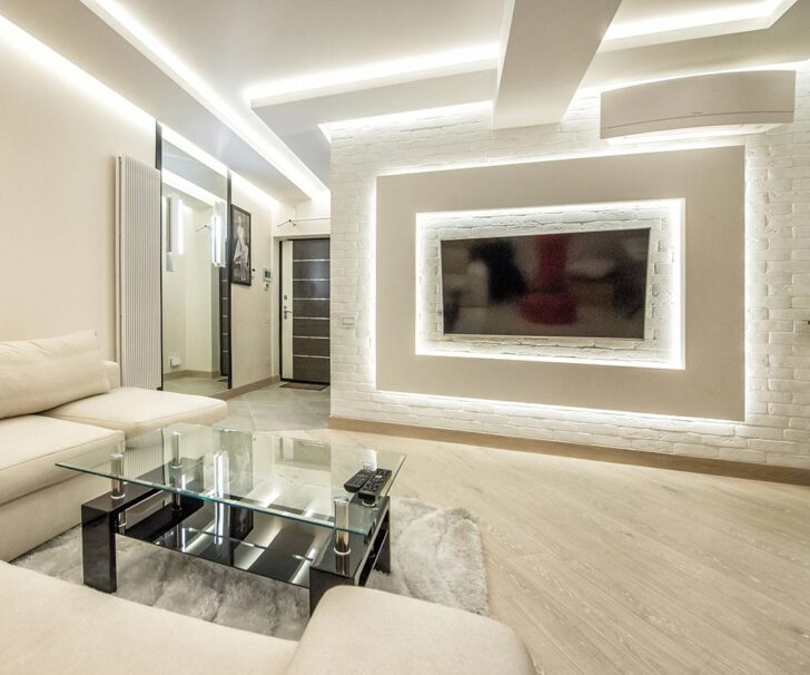 Medium Size of Alu Profile Wohnzimmer Ledde Aluminium Tischlampe Deckenlampen Led Panel Küche Liege Einbaustrahler Bad Teppich Spiegel Einbauleuchten Deckenleuchte Wohnzimmer Wohnzimmer Led
