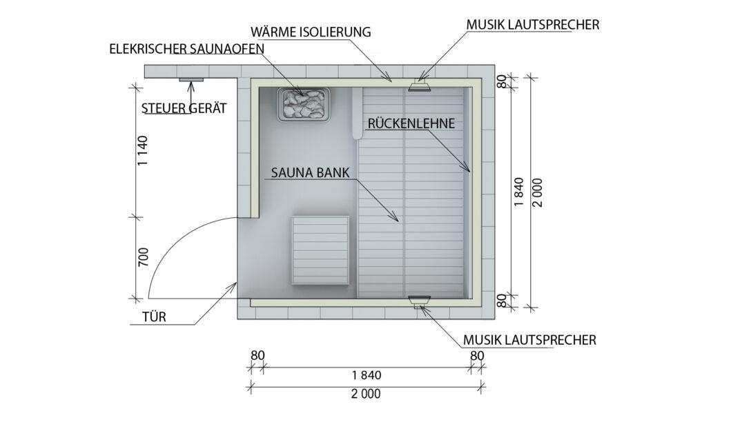 Large Size of Außensauna Wandaufbau Saunaintercom Wohnzimmer Außensauna Wandaufbau