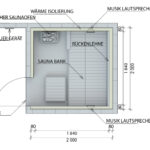 Außensauna Wandaufbau Saunaintercom Wohnzimmer Außensauna Wandaufbau