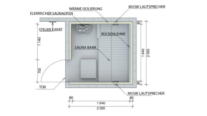 Medium Size of Außensauna Wandaufbau Saunaintercom Wohnzimmer Außensauna Wandaufbau