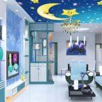 Wohnzimmer Decke Wohnzimmer Tapete Foto Wandbild Sterne Mond Fr Für Wohnzimmer Indirekte Beleuchtung Hängeschrank Weiß Hochglanz Hängeleuchte Stehleuchte Lampe Im Bad Schlafzimmer