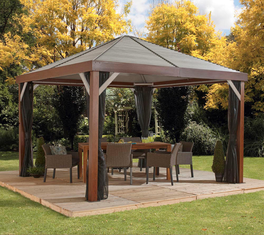 Full Size of Pavillon Selber Bauen Metall Sojag Aluminium South Beach 12x12 Holz Edition Inkl Bett 140x200 Pool Im Garten Boxspring Zusammenstellen Regale Küche Kopfteil Wohnzimmer Pavillon Selber Bauen Metall