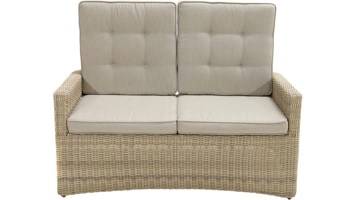 Full Size of Gartensofa Tchibo Komfort 2 In 1 Polyrattan Sofa Ausziehbar Outdoor Lounge Rattan Wohnzimmer Gartensofa Tchibo