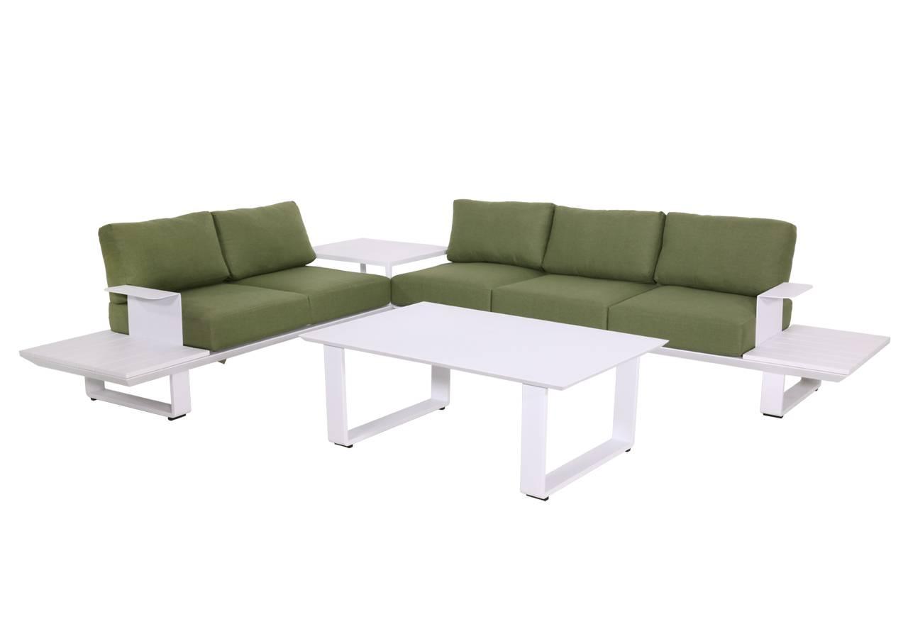 Full Size of Loungemöbel Aluminium Loungembel Set 3 Teilig Wei Grn Gnstig Online Kaufen Verbundplatte Küche Garten Holz Günstig Fenster Wohnzimmer Loungemöbel Aluminium
