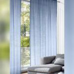 Vorhänge Gardine Vorhang Blau 280cm Hoch Gardinen Outlet Wohnzimmer Schlafzimmer Küche Wohnzimmer Vorhänge