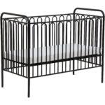 Kinderbett Gitterbett Babybett Aus Metall Polini 150 Schwarze Küche Schwarzes Bett Schwarz Weiß 180x200 Wohnzimmer Babybett Schwarz