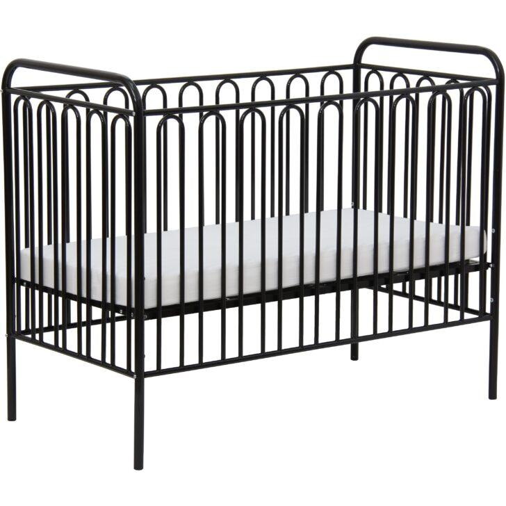 Medium Size of Kinderbett Gitterbett Babybett Aus Metall Polini 150 Schwarze Küche Schwarzes Bett Schwarz Weiß 180x200 Wohnzimmer Babybett Schwarz