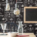 Tapete Küche Kaffee Wohnzimmer Tapete Chalkboard Anthrazit Tapeten Musterküche Single Küche Bodenbelag Was Kostet Eine Neue Kurzzeitmesser Sitzbank Mit Lehne Ausstellungsstück