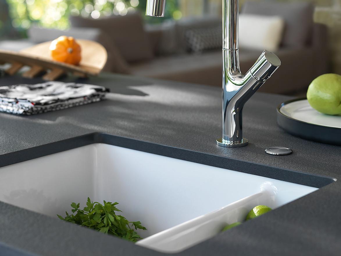 Full Size of Waschbecken Küche Weiß Kchensple Unter Der Lupe Einbauarten Mit Geräten Einbauküche Günstig Esstisch Oval Billige Aufbewahrung Fliesenspiegel Glas Wohnzimmer Waschbecken Küche Weiß