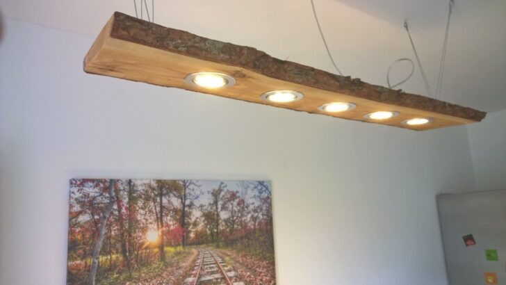 Medium Size of Details Zu Lrche Led Hngelampe 120cm 5 Leds Massivholz Rustikal Betten Loungemöbel Garten Holz Holzbank Esstische Deckenlampen Für Wohnzimmer Wohnwand Wohnzimmer Wohnzimmer Lampe Holz