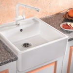 Spülstein Keramik Blanco Panor 60 Splstein Kaufen Splmodule Preiswert Waschbecken Küche Wohnzimmer Spülstein Keramik