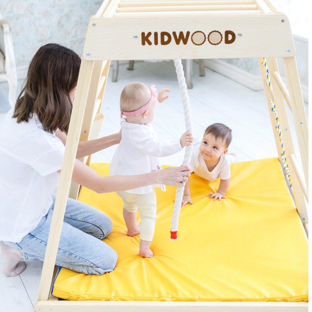 Large Size of 1 Kidwood Klettergerst Segel Junior Set Aus Holz Fr Indoor Klettergerüst Garten Wohnzimmer Kidwood Klettergerüst