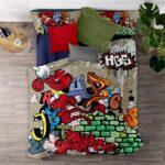 Lustige Bettwäsche 155x220 Jiangshanshan Bettwscheset Bettbezug Kissenbezug Aus Weicher T Shirt Sprüche T Shirt Wohnzimmer Lustige Bettwäsche 155x220