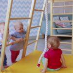 Kidwood Kinderklettergerst Rakete Aus Holz Fr Kinderzimmer Klettergerüst Garten Wohnzimmer Kidwood Klettergerüst