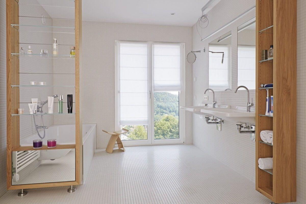 Full Size of Bodenfliesen Bauhaus Modernes Badezimmer Rollstuhlgerecht Mit Mosaik Fliesen Wei Bad Küche Fenster Wohnzimmer Bodenfliesen Bauhaus