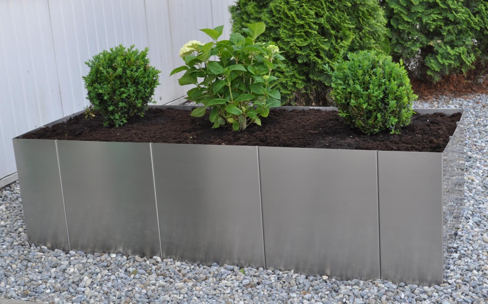 Full Size of Garten Im Quadrat Hochbeet Square 160 Edelstahlküche Edelstahl Outdoor Küche Gebraucht Wohnzimmer Hochbeet Edelstahl
