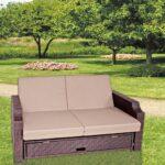 Garden Pleasure Funktionssofa Garten Sofa Lounge Terrasse Mbel Wohnzimmer Couch Terrasse