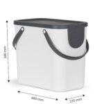 Müllsystem Recycling Mllsystem Albula 25 L Jetzt Versandkostenfrei Kaufen Küche Wohnzimmer Müllsystem