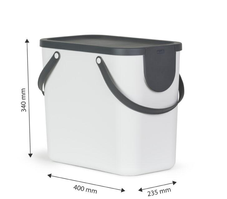 Medium Size of Müllsystem Recycling Mllsystem Albula 25 L Jetzt Versandkostenfrei Kaufen Küche Wohnzimmer Müllsystem