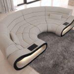 Sofa Rund Klein Big Concept Mit Stoffbezug Ihrer Wahl Designersofa Gnstig Günstige überzug Comfortmaster Canape Schillig Togo Vitra Hocker Halbrund Wohnzimmer Sofa Rund Klein