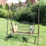 Gartenschaukel Metall Amazonde Dandibo Hollywoodschaukel Antik 2 Sitzer Bett Regal Regale Weiß Wohnzimmer Gartenschaukel Metall