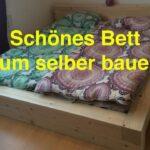 Ein Bett Zum Selber Bauen By Lunchvegaz Youtube Möbel Boss Betten Wickelbrett Für übergewichtige 180x200 Schwarz Modern Design Liegehöhe 60 Cm Esstisch Wohnzimmer Bett Aus Balken Bauen
