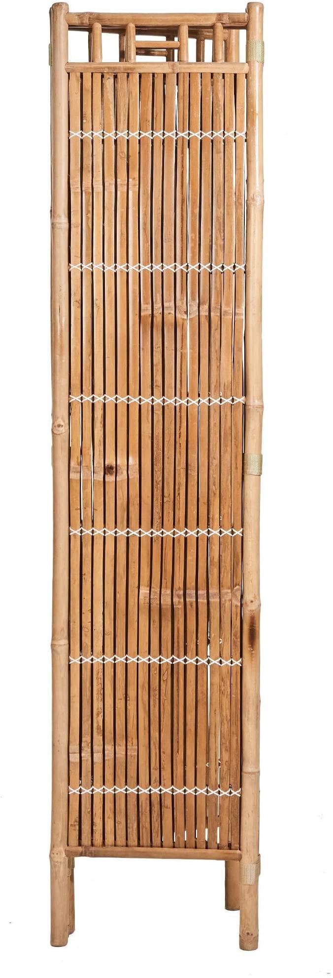 Full Size of Butlers Safari Paravent Bambus 120x4x180 Cm Brauner Raumteiler Garten Bett Wohnzimmer Paravent Bambus