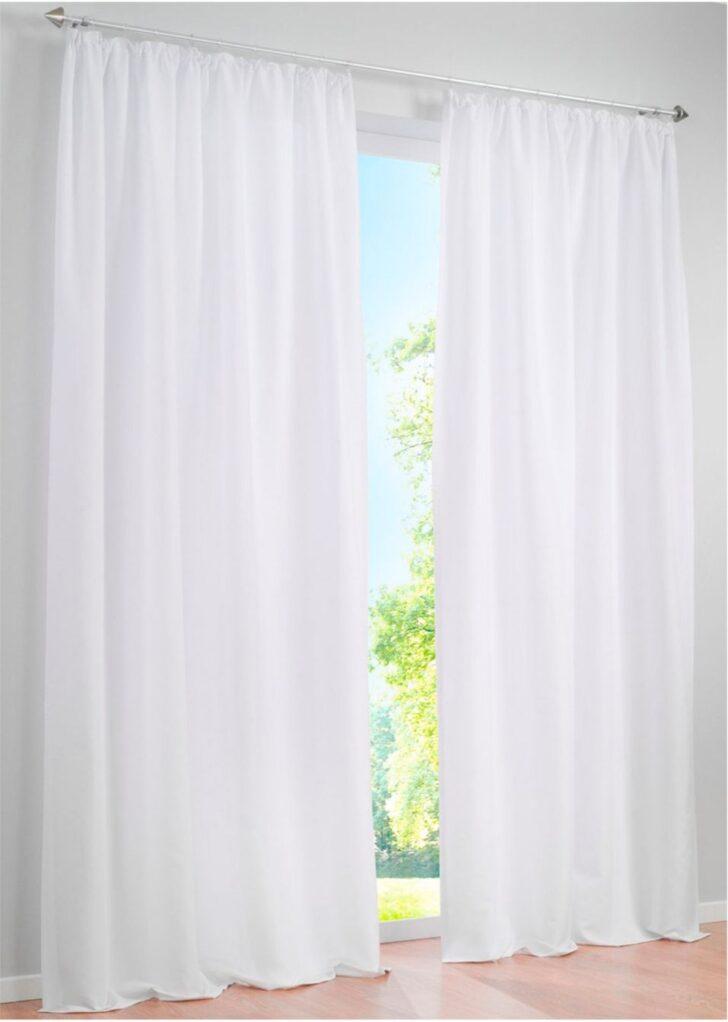Medium Size of Vorhang Mit Weichem Mikrofaser Touch Reinweiss Bonprix Betten Schlafzimmer Vorhänge Wohnzimmer Küche Wohnzimmer Bon Prix Vorhänge