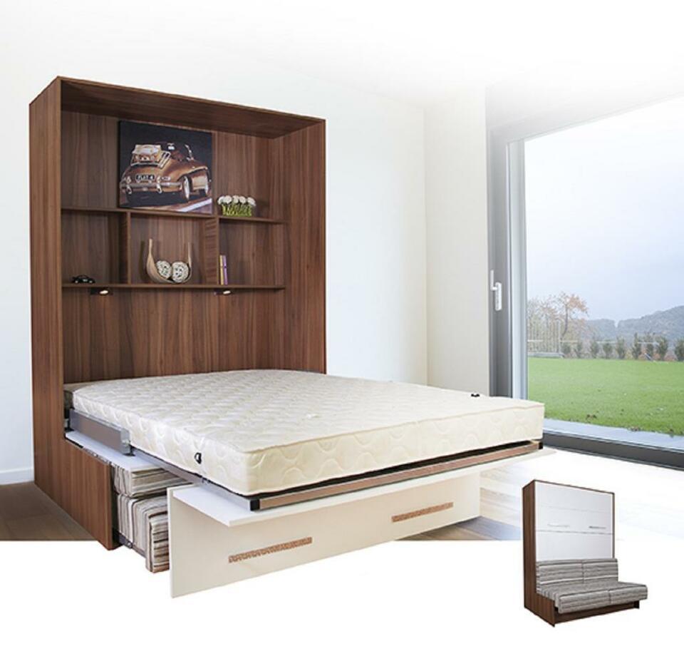 Full Size of Schrankbett 160x200 Bett Bettkasten Betten Ikea Schlafsofa Liegefläche Weiß Schubladen Weißes Lattenrost Und Wohnzimmer Schrankbett 160x200