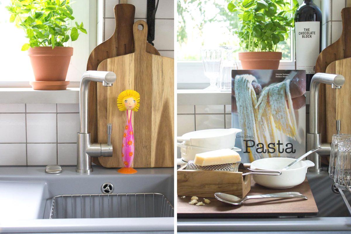Full Size of Design In Der Kche Meine Neue Sple Multifunktional Und Aus Keramik Waschbecken Küche Wohnzimmer Spülstein Keramik