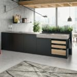 Hängeregal Kücheninsel Wohnzimmer Klein Hängeregal Küche