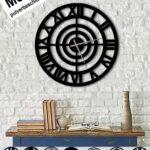 Design Metall Wanduhr Rmische Zahlen Uhr Archtwain Studio Edelstahlküche Gebraucht Armatur Küche Umziehen L Mit Elektrogeräten Holz Modern Boxspring Bett Wohnzimmer Wanduhr Küche Landhaus