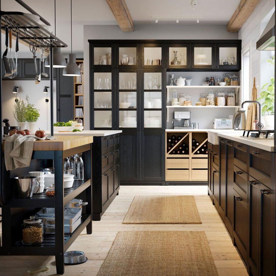 Kcheninspiration Ikea Schweiz Küchen Regal Rustikal Esstisch Küche Holz Rustikaler Rustikales Bett