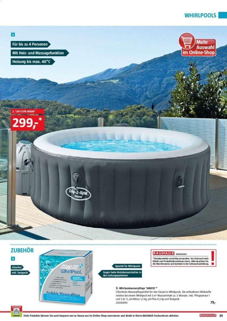 Medium Size of Whirlpool Bauhaus Aktuelle Angebote Rabatt Kompass Garten Aufblasbar Fenster Wohnzimmer Whirlpool Bauhaus