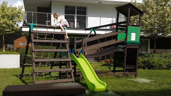 Medium Size of Spielturm Test 2020 Vergleich Der Besten Spieltrme Trennwände Garten Whirlpool Vertikaler Spaten Trampolin Loungemöbel Kandelaber Lounge Sofa Fußballtore Wohnzimmer Kinderturm Garten