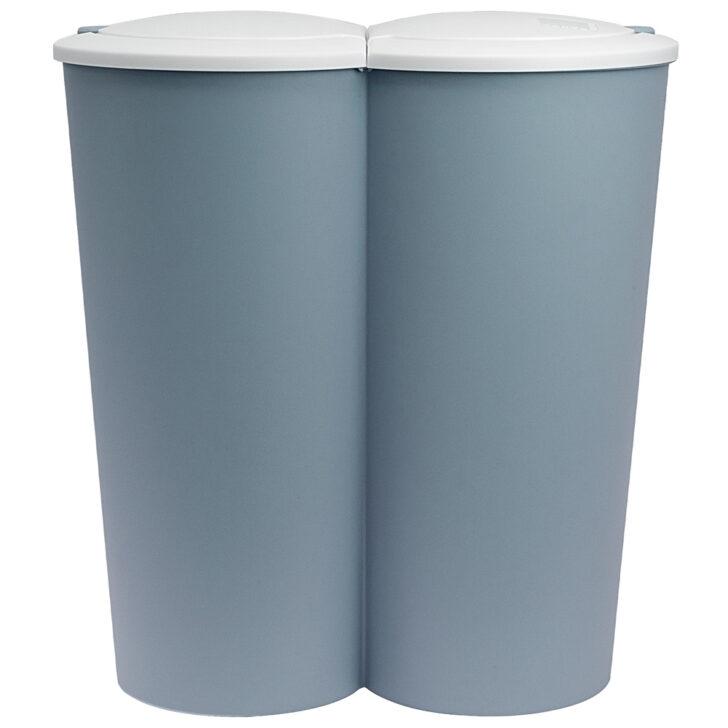 Medium Size of Doppel Mülleimer Mlleimer Kche Haushalt Deubaxxl Küche Doppelblock Einbau Wohnzimmer Doppel Mülleimer