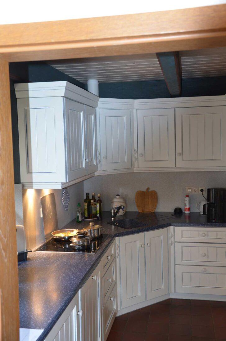 Medium Size of Weie Landhauskche Tischlerei Dohrn In Risum Lindholm Holzküche Massivholzküche Vollholzküche Wohnzimmer Holzküche Auffrischen