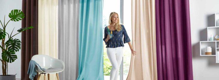 Medium Size of Gardinen Vorhnge In Groer Auswahl Yourhomede Wohnzimmer Vorhänge Schlafzimmer Küche Wohnzimmer Vorhänge