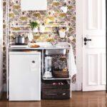 Aufs Wesentliche Reduziert Kitcheninspo Sunnersta Minikche Miniküche Ikea Bad Renovieren Ideen Stengel Wohnzimmer Tapeten Mit Kühlschrank Wohnzimmer Miniküche Ideen