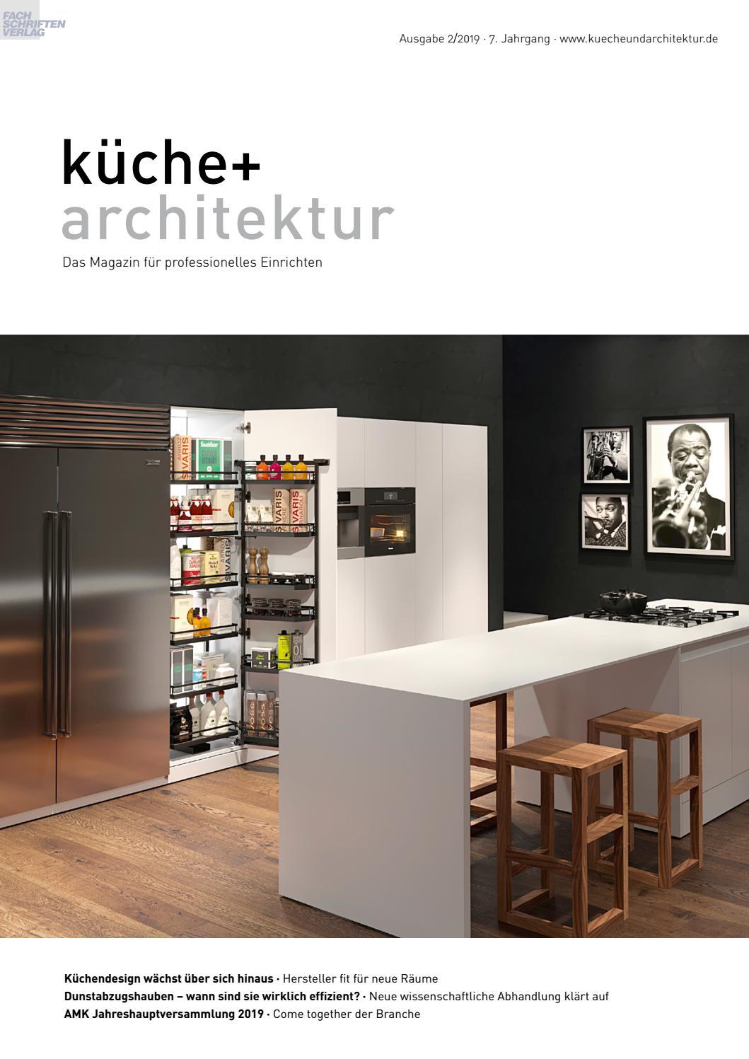 Full Size of Kche Architektur 2 2019 By Fachschriften Verlag Betten Bei Ikea Hotel Schweizer Hof Bad Füssing Küche Kaufen Modulküche Sofa Mit Schlaffunktion Miniküche Wohnzimmer Ausstellungsküchen Ikea Schweiz
