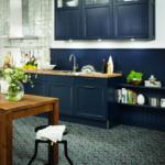 Küche Blau Wohnzimmer Küche Blau Landhauskchen Ideen Und Bilder Klassisch Aufbewahrung Wasserhahn Wandanschluss Lampen Weiße Erweitern Kräutertopf Sprüche Für Die Sideboard Mit