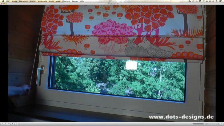 Medium Size of Raffrollo Selber Nhen Fr Anfnger Diy Anleitung Küche Wohnzimmer Raffrollo Küchenfenster