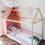 Endlich Durchschlafen Diy Hausbett Fr Nach Montessori Wohnzimmer Kinderbett Diy