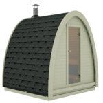 Gartensauna Bausatz Wohnzimmer Gartensauna Bausatz Mini Sauna Pod Fr Kleine Grten Wahlweise Mit Oder Ohne Ofen